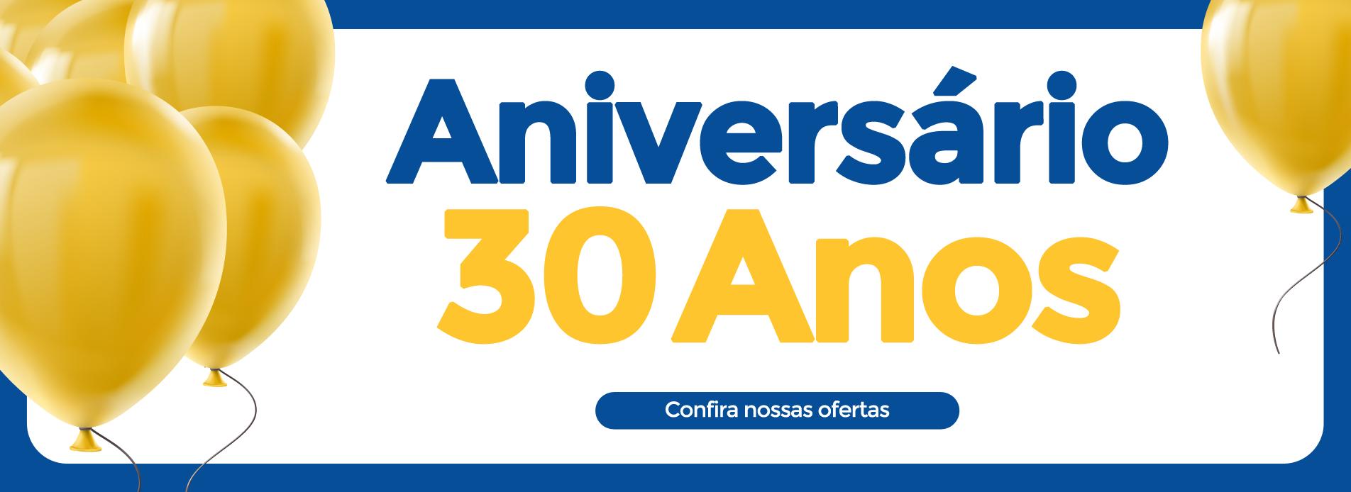 banner 30 anos